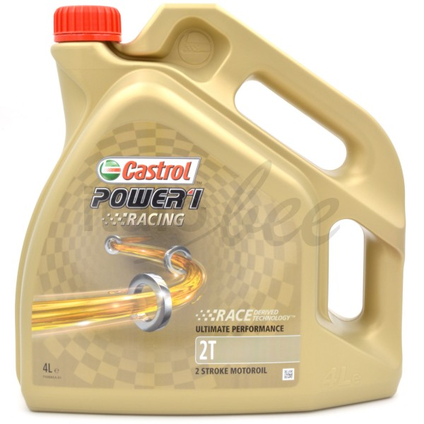 CASTROL 2-Takt-Motorenöl Power1 Racing Vollsynthetisch, 4ltr